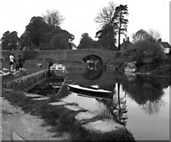 SU1561 : Pewsey Bridge, Kennet and Avon Canal by Dr Neil Clifton