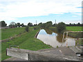SJ7858 : Lock on Trent and Mersey Canal by Pauline Eccles