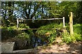 TM1523 : Bridge at Hill House Lane Ford by Glyn Baker