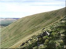 NX3392 : Glengap Hill by Walter Baxter