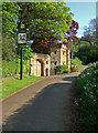 ST6425 : The Gatehouse to Compton Castle - Compton Pauncefoot by Mike Searle