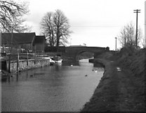 SU1061 : Honeystreet Bridge and wharf, Kennet and Avon Canal by Dr Neil Clifton