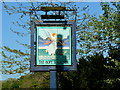ST7660 : 'Hope and Anchor' public house, Midford - sign by Brian Robert Marshall
