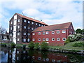 TA0257 : Converted Canalside Buildings by Andy Beecroft