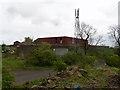 NS8764 : Blairmuckhole Farm & BTS by Raymond Okonski