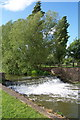 SP7033 : Weir on the river Ouse, Bourton Mill, Buckingham by Mark R Dornan