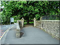 SD7713 : Lych gate, The Parish Church of St Anne, Tottington by Alexander P Kapp