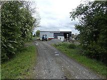 N4739 : Barn and may blossom by Jonathan Billinger