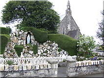 S8837 : Shrine and church, Courtnacuddy, Co. Wexford by Jonathan Billinger