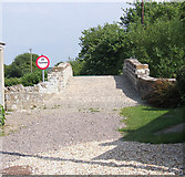 ST3819 : Refurbished bridge over the Westport canal at Westport by Martin Southwood