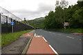 NS2489 : Cycle Path Faslane by George Rankin