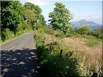 NS0423 : The road near Largybeg by Gordon Brown