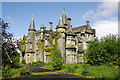 NS2587 : Former Shandon House (St. Andrew's School), Shandon, Dunbartonshire by George Rankin