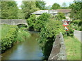 SS6504 : The bridge at Bondleigh, Devon by Robin Lucas