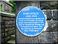 Photo of Enid Stacy and Percy Wildrington blue plaque