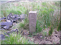 SE0109 : LNWR boundary stone by John Illingworth