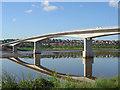 SS5533 : The Taw Bridge, Barnstaple, Devon. by Maurice Clements