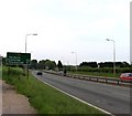 TL1655 : A1 Great North Road looking northwards by Andrew Tatlow