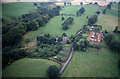 NY5562 : Aerial view of Boothby, near Lanercost by Jonathan Adams