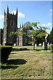 SX3287 : Werrington: St Martin's church by Martin Bodman
