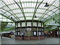 NS1968 : Ticket office at Wemyss Bay station by Thomas Nugent