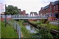 SJ9223 : Riverside Walk, Stafford by Stephen Pearce