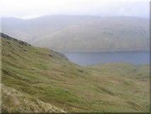 NN4240 : Around Loch Lyon on a misty day by Andrew Spenceley