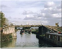 ST8660 : Hilperton Marsh Bridge - No.165 - near Hilpertonn 2003 by Maurice Pullin