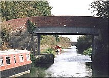 ST8760 : Whaddon Bridge - No.163 - nr. Whaddon  2003 by Maurice Pullin