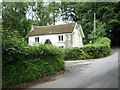 SO3600 : House at the junction of the lane to Cefn Ila Farm by Ruth Sharville