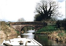 SU1862 : New Mill Bridge - No.111 - K&A Canal - 2004 by Maurice Pullin