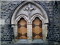 SE3406 : Holy Rood Church Entrance by Peter Beard