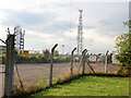 TF1803 : Communications Mast off Gunthorpe road by Kate Jewell