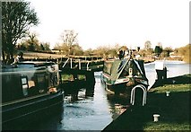 SU2864 : Burnt Mill Lock - No.65 - Great Bedwyn - 2004 by Maurice Pullin