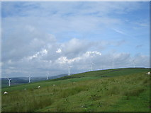 SS9786 : Windfarm, from near the Ogwr Ridgeway walk by Ruth Sharville
