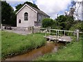 SW6734 : Burras Methodist chapel by Derek Harper