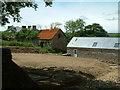 SM8523 : Farm Buildings, Llethr, Pembrokeshire by Robin Lucas