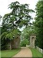 TF6600 : Entrance to St Mary's Abbey by Tony Thomas