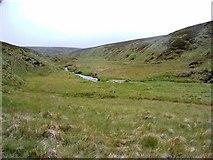 NN8183 : Looking back uphill by Alan Stewart