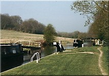 SU4167 : Dreweat's Lock - No.79 - K&A Canal nr. Kintbury - 2003 by Maurice Pullin