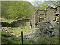 SD7422 : Ruin of Bentley House. by Paul Rudge