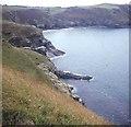 SX0790 : Cliffs north of Bossiney Haven by Trevor Rickard