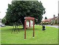 TL1571 : Village green at Ellington by Les Harvey