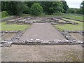 ST4690 : Caerwent Roman Temple by andy dolman