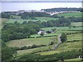 NS2272 : Majeston farm and Inverkip from Greenock Cut by Thomas Nugent