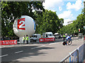 TQ2880 : Tour de France at Hyde Park Corner (1) by Stephen Craven