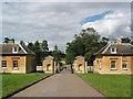 SP3518 : The North Lodge at Cornbury Park by Pauline E
