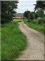 TG0622 : Cottage near Oaks Farm by Evelyn Simak
