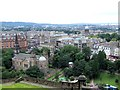 NT2473 : Panorama from the Castle, Edinburgh - 2 of 4 #2 by Dave Hitchborne