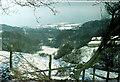 SJ9664 : Bearda Farm valley of River Dane Winter 1976 by Barry Dale